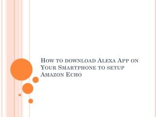 How to Download Alexa App On Samrtphone
