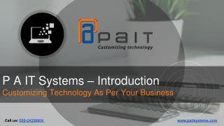P A IT Biz Systems - Retail POS Software Company In Pune