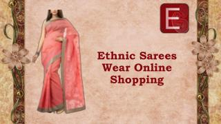 Ethnic Sarees Wear Online Shopping
