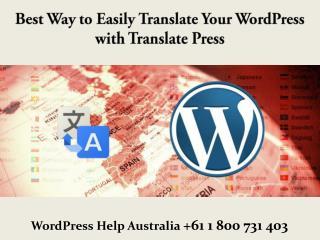 Best Way to Easily Translate Your WordPress with TranslatePress