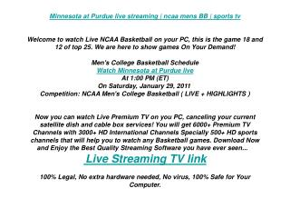 Minnesota at Purdue live streaming | ncaa mens BB | sports t