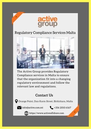 Regulatory Compliance Services Malta