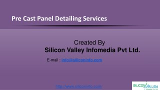 Pre-cast Panel Detailing Services - Silicon Info