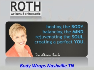 Body Wraps Nashville TN