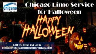 Chicago Limo Service for Halloween-(312) 757-4634