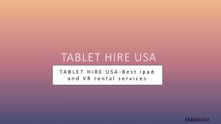 How iPad tablets are influencing business meetings and events