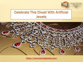 Celebrate This Diwali With Artificial Jewels