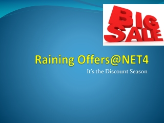 Raining Offers@NET4