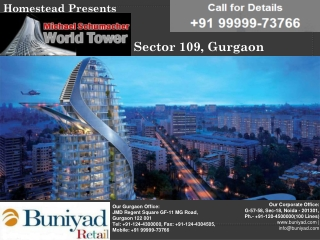 >Michael Schumacher World Champion Tower Gurgaon