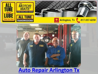 Auto Repair Arlington Tx
