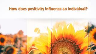 Positive-attitude-influence