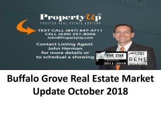 Buffalo Grove Real Estate Market Update October 2018