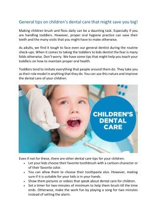 Dental care for Childrens   Kids dentist in Jackson Heights