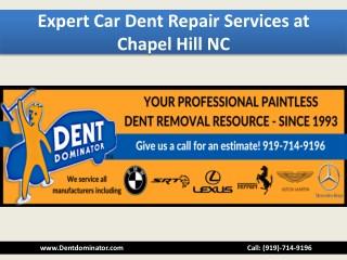 Expert Car Dent Repair Services at Chapel Hill NC