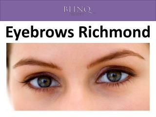 Eyebrows Richmond
