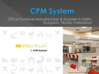 Advantages of Office Furniture manufacturer you must know