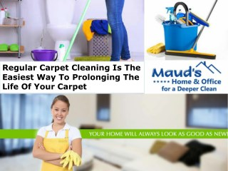 Regular Carpet Cleaning Is The Easiest Way To Prolonging The Life Of Your Carpet