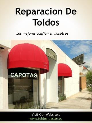 reparacion de toldos http://toldos-pastor.es/