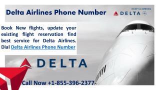 Delta Airlines Customer Service 1 855 396 2377