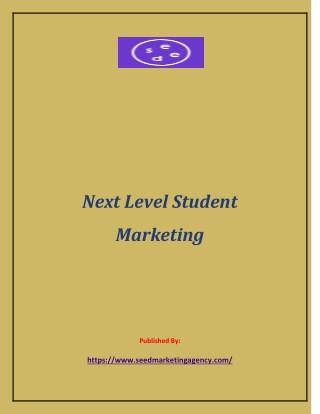 Next Level Student Marketing
