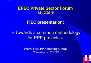 EPEC Private Sector Forum 13