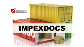 ImpexDocs – Streamline Your Export Process; Reduce Time & Cost