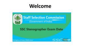 SSC Stenographer Exam Dates   Check SSC Stenographer Exam Calendar 2018