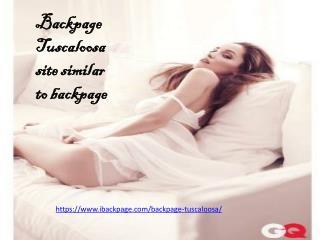 Backpage Tuscaloosa site similar to backpage