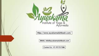 Ayuskama Offers the Best Panchkarma Treatment in Rishikesh