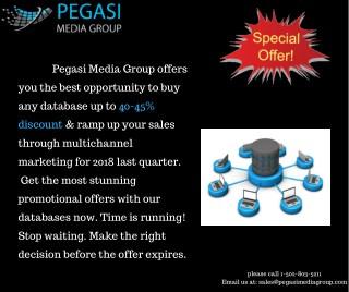 Pegasi Media Group | B2B Marketing Leads| Technology Leads