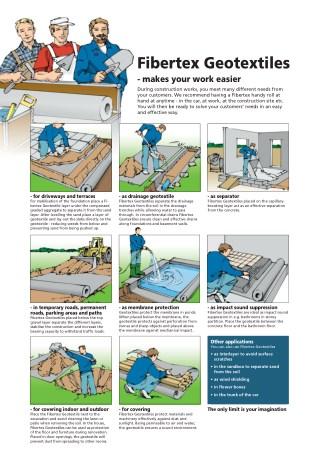 Fibertex Geotextiles - Makes Your Work Easier