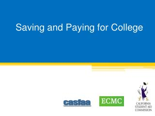 Saving and Paying for College