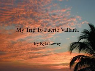 My Trip To Puerto Vallarta