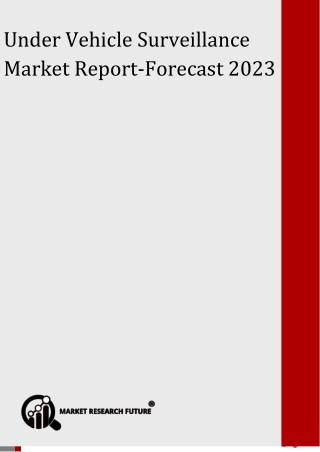 Under Vehicle Surveillance Market
