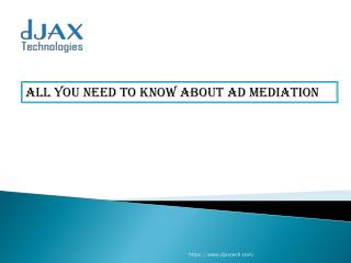 All you need to know about ad mediation