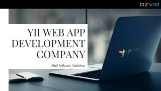 Yii Web App Development Company in Mohali