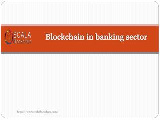 Blockchain in banking sector