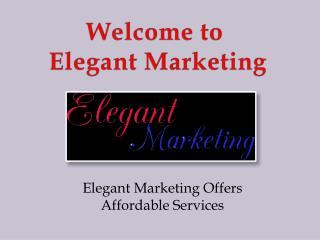 SEO Services in Burnaby - Elegant Marketing