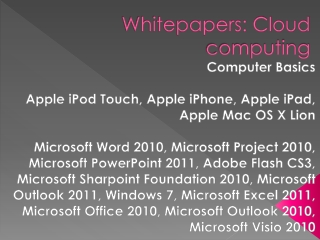 Apple and Microsoft Quick Reference Cards
