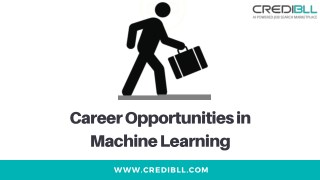 Career Opportunities in Machine Learning