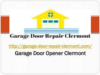 Garage door repair minneola