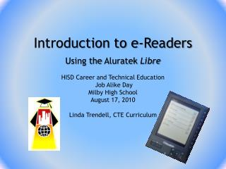 Introduction to e-Readers