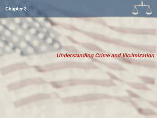 Understanding Crime and Victimization