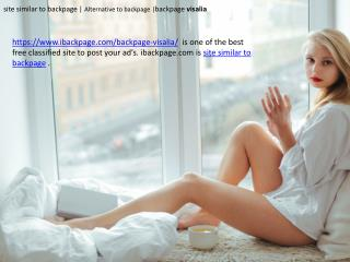 site similar to backpage   Alternative to backpage  backpage visalia