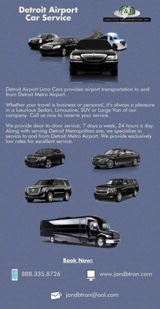 DetroitAirport Car Service - J & B Executive Transportation