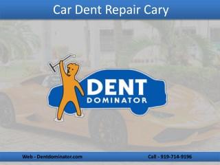 Professional Car Dent Repair Service in Cary NC