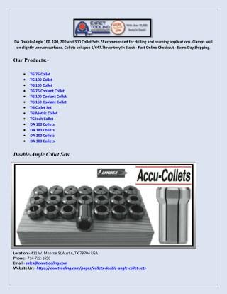 Acura-Flex AF 75 Collets