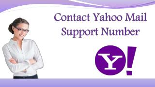 Contact Yahoo Mail Support Number