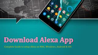 Download Alexa App For Windows, Android, MAC & iOS