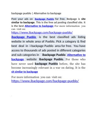 backpage rockies   Alternative to backpage   site similar to backpage